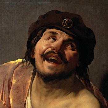 Democritus [detail #1] by Hendrick Terbrugghen